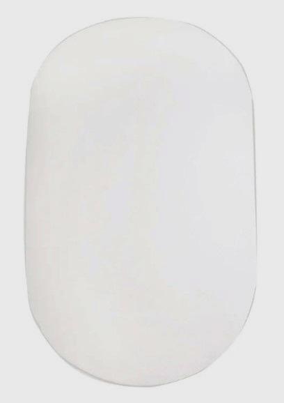 Простынь на резинке детская 120х60 овальная сатин
