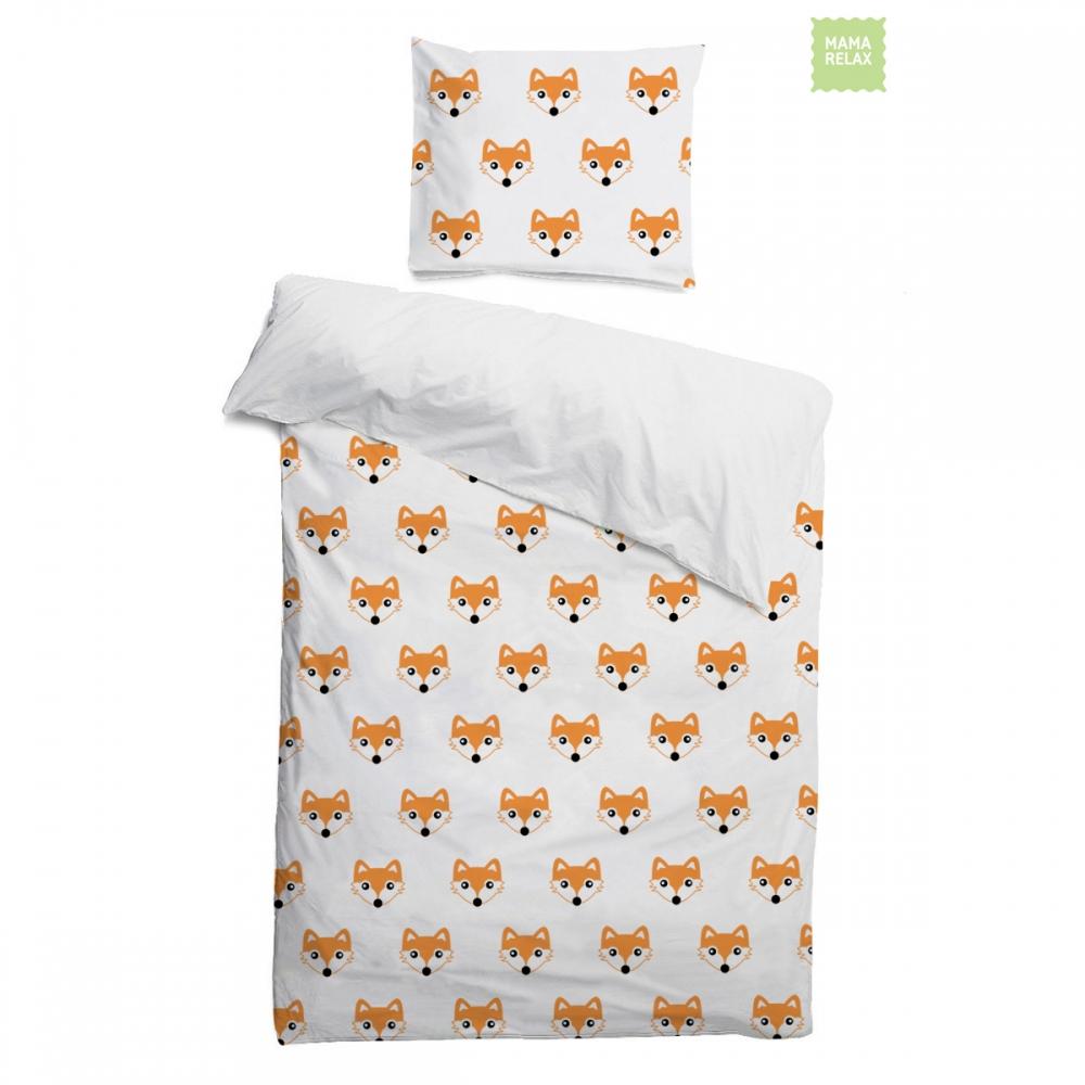 Детское постельное бельё 120х60 Лисички