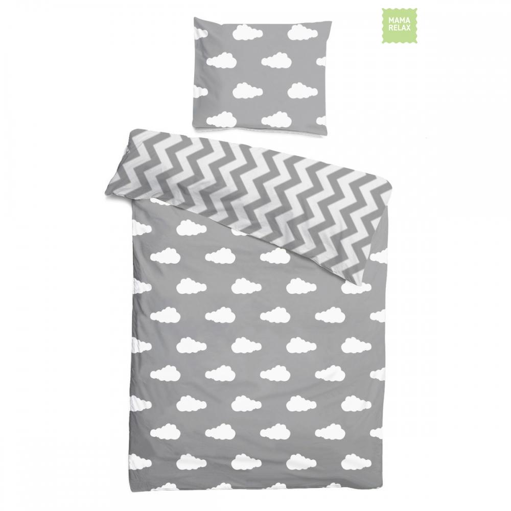 Комплект детского постельного белья облачка