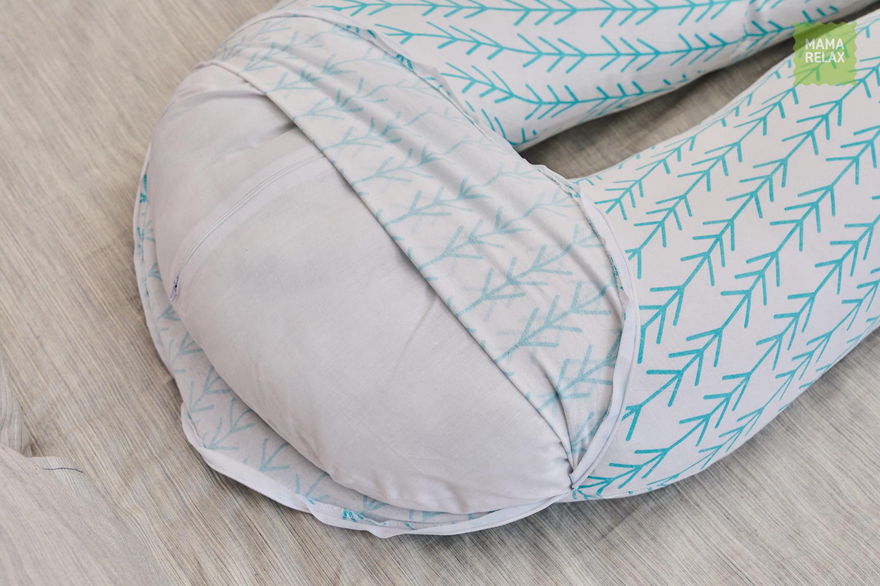 Подушка  для беременных U340 Елочки