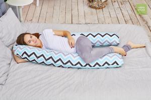 Подушка  для беременных U340 Зигзаги нежные