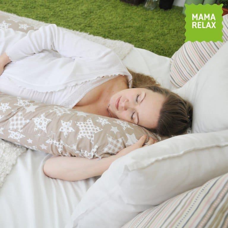 Подушка  для беременных U340 Звезды кофе