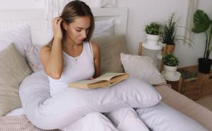 Подушка  для беременных U340 сатин Серый