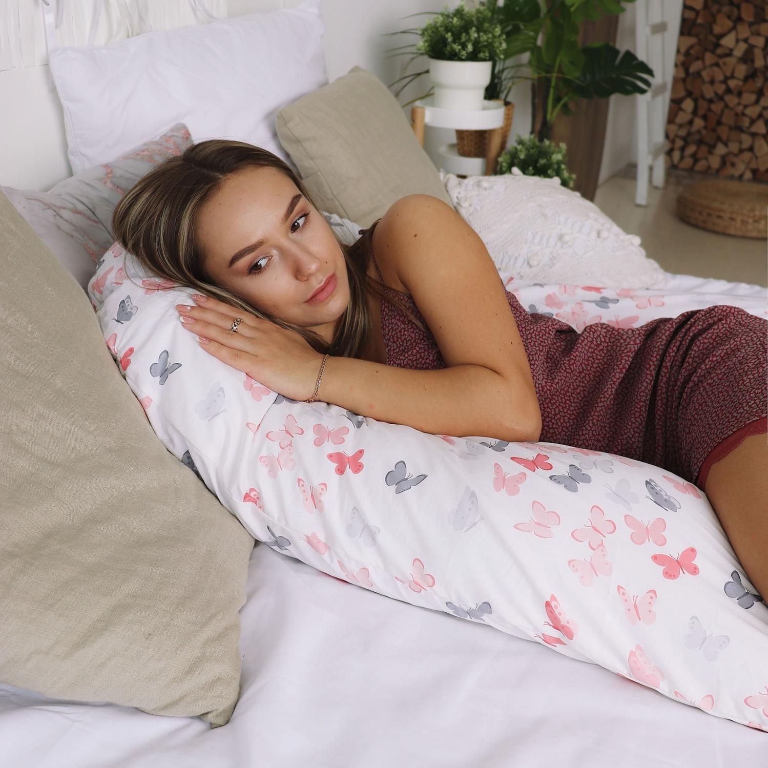 Подушка для беременных U280 Бабочки