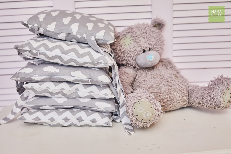 Детские бортики в кроватку - Зефир