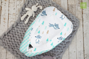 Гнездышко для новорожденного - Лисички в лесу