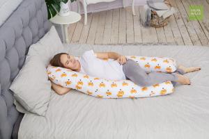 Подушка  для беременных U340 Лисички