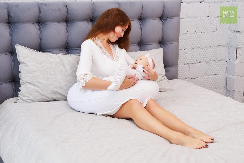 Mama Relax Наволочка I170 Поплин белый