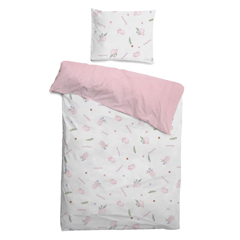 Детское постельное бельё 120х60 Птенчик