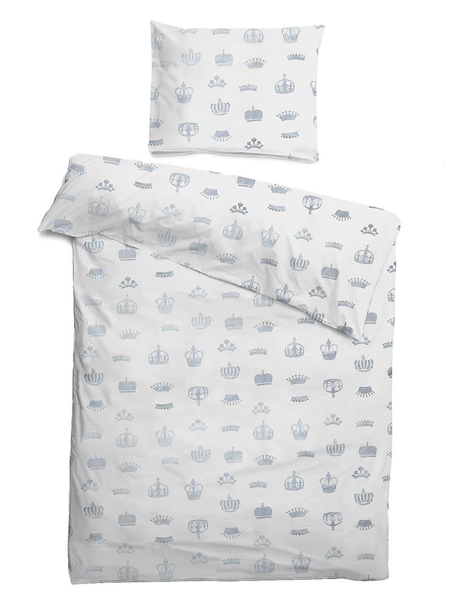 Детское постельное бельё 120х60 Короны