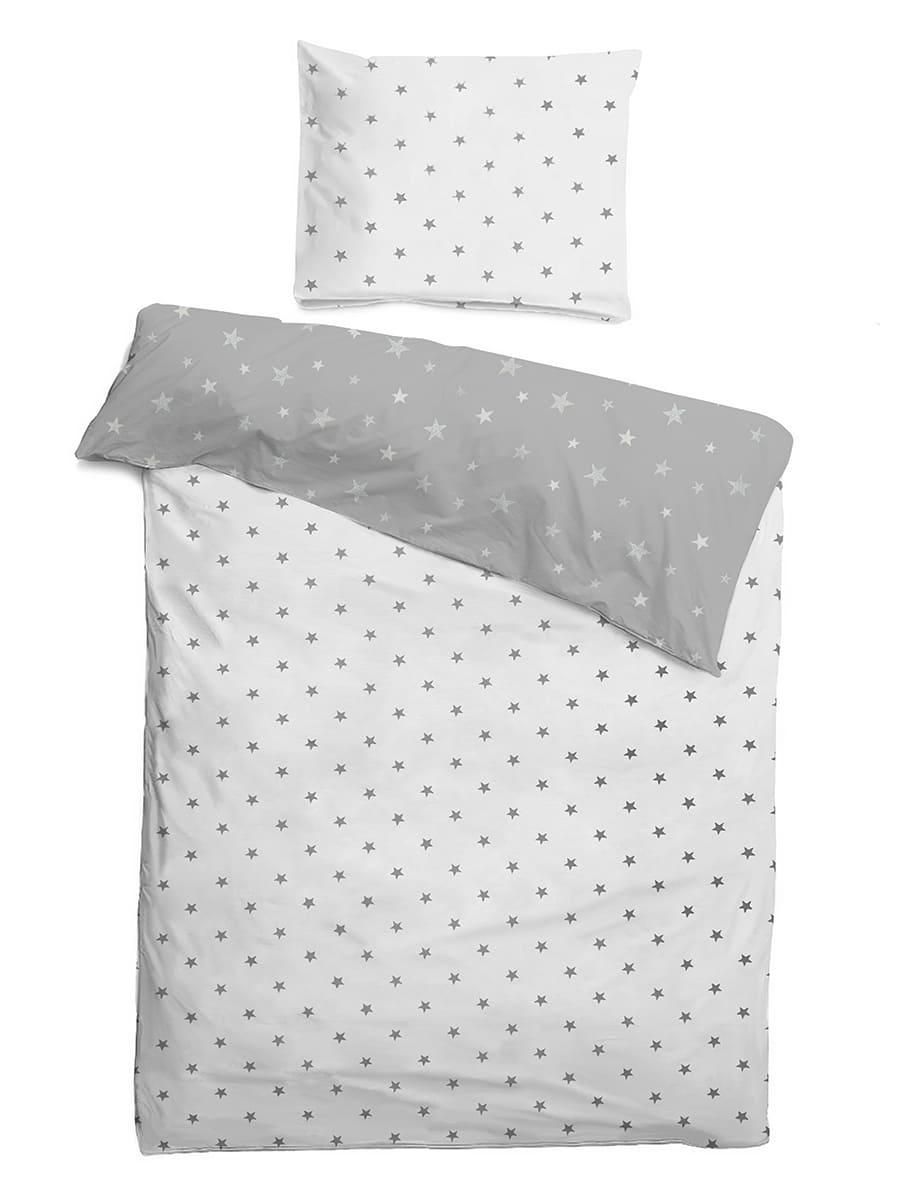 Детское постельное бельё 120х60 Звездочки