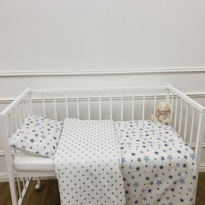Детское постельное бельё 120х60 Звездочет