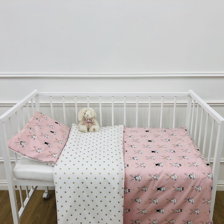 Детское постельное бельё 120х60 В стране чудес