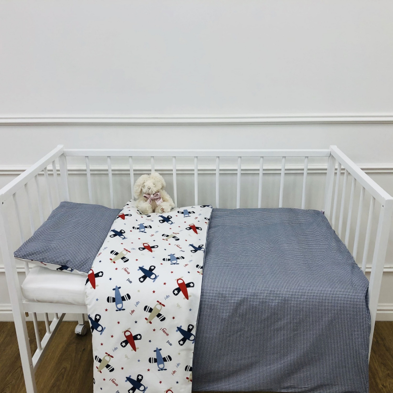 Детское постельное бельё 120х60 Чудеса на виражах