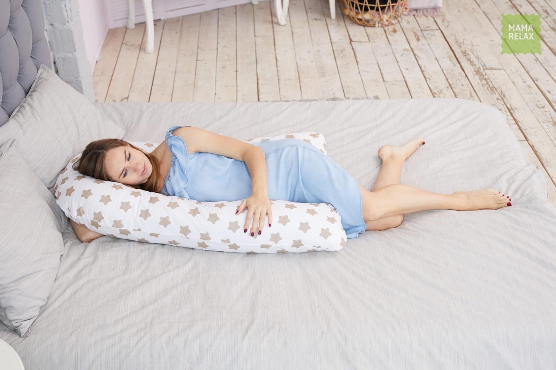 Подушка для беременных U280 Прянички кофе